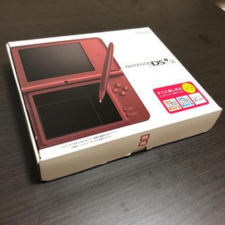 ニンテンドーDS(ニンテンドーDS)のDSiLL本体 新品未使用(携帯用ゲーム本体)
