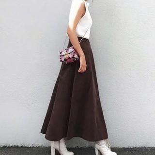ティティベイト(titivate)のタグ付き新品✦ฺBASEMENT online コーデュロイスカート ロング(ロングスカート)