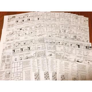 スヌーピー 4コマ漫画 36枚セット(その他)