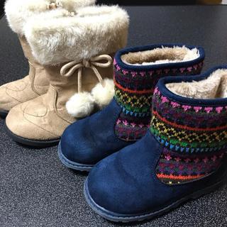 *女の子ブーツ2点セット*16cm(ブーツ)