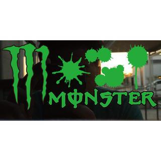 monster energy モンスターエナジーステッカー(車外アクセサリ)