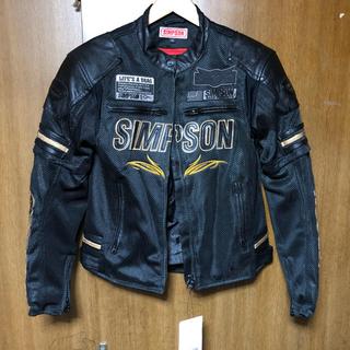 シンプソン(SIMPSON)のシンプソン メッシュジャケット(ライダースジャケット)