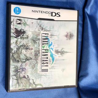 ニンテンドーDS(ニンテンドーDS)のファイナルファンタジーIII  FF3 ds 動作ok(家庭用ゲームソフト)