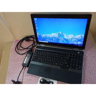 デル(DELL)のDELL i7 15.6 Win10 8GB SSHD1TB office(ノートPC)