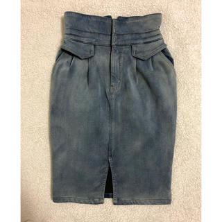 ココディール(COCO DEAL)のデニムタイトスカート(ひざ丈スカート)
