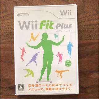 ウィー(Wii)のWii Fit Plus  ウィーフィットプラス(家庭用ゲームソフト)