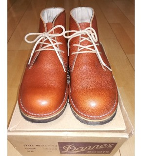 ダナー(Danner)のDanner  チャッカブーツ US7.5 D1351 クレープソール美品(ブーツ)