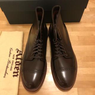 オールデン(Alden)のオールデン レアカラー シガーコードバン AC3 キャップトゥブーツ ALDEN(ブーツ)