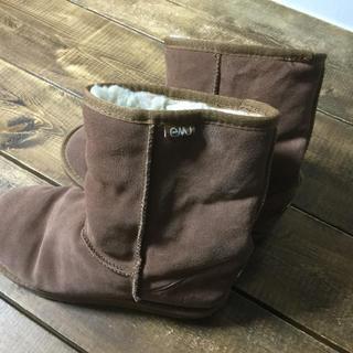 エミュー(EMU)のムートンブーツ エミュー 26cm EMU(ブーツ)
