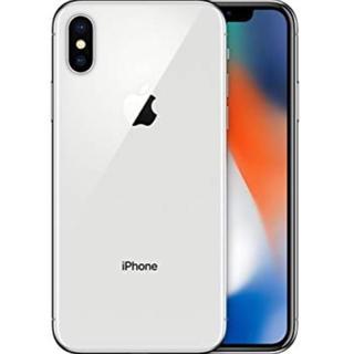アップル(Apple)の美品 アイフォン  X  シルバー 256GB SIMフリー (スマートフォン本体)