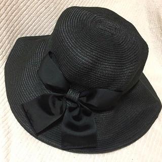 マリクレール(Marie Claire)の未使用品 マリクレール リボン帽子(ハット)