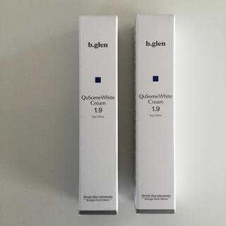 ビーグレン(b.glen)のビーグレン QuSome White Cream 1.9  2本セット(フェイスクリーム)