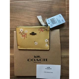 コーチ(COACH)のCOACH 29872 MINI 花柄 コインとカードケース 大人気!残り1つ!(コインケース)