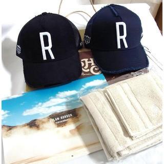 ロンハーマン(Ron Herman)の2個セット 福岡限定 RHC ロンハーマン 別注 ヨシノリコタケ キャップ 黒紺(キャップ)