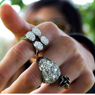 iced out rings 指輪(リング(指輪))