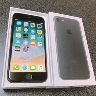 アップル(Apple)のiPhone7 SIMフリー 128GB 中古(スマートフォン本体)