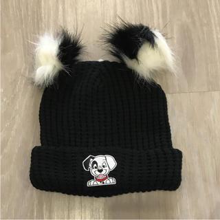 プライマーク(PRIMARK)のプライマーク 101匹わんちゃん ニット帽(ニット帽/ビーニー)