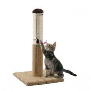 【ネコちゃんに】どこでもツメとぎタワーS 猫用(猫)