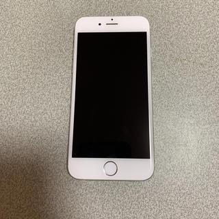 アップル(Apple)のiphone6 シルバー 128GB ソフトバンク(スマートフォン本体)