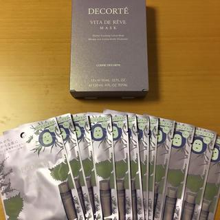 コスメデコルテ(COSME DECORTE)のコスメデコルテ ヴィタドレーブマスク 12枚セット(パック / フェイスマスク)