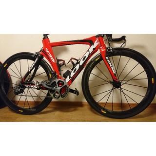 ルック(LOOK)のlook496 tri ultegra di2 ホイールなし(自転車本体)