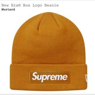 シュプリーム(Supreme)のFw18 Supreme New Era Box Logo Beanie(ニット帽/ビーニー)