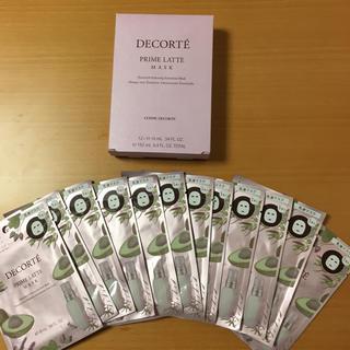 コスメデコルテ(COSME DECORTE)のコスメデコルテ プリムラテマスク 12枚セット(パック / フェイスマスク)