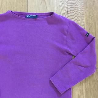 セントジェームス(SAINT JAMES)のパープル  紫色 セントジェームス (カットソー(長袖/七分))