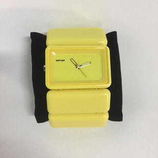 ニクソン(NIXON)のニクソン イエロー 時計(腕時計)