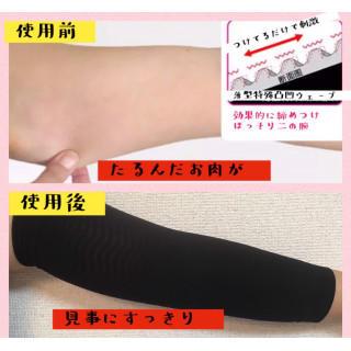 期間限定セール 二の腕サポーター エクササイズ 2枚セット 男女共有(エクササイズ用品)