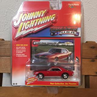 シボレー(Chevrolet)の新品 JOHNNYLIGHTNING 1967Chevy camaro Z28(ミニカー)