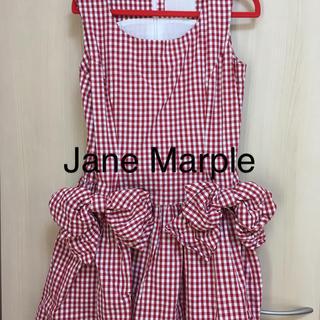 ジェーンマープル(JaneMarple)のJane Marple  ジェーンマープル ギンガムチェック  ワンピース(ミニワンピース)