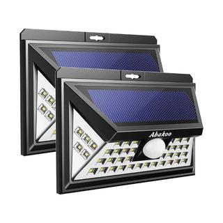 LED センサーライト ソーラーライト アウトドアライト(防犯カメラ)