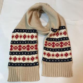 ムジルシリョウヒン(MUJI (無印良品))の無印良品 MUJI 子供服 マフラー 男の子 女の子 防寒 アクセサリー 冬用(マフラー/ストール)