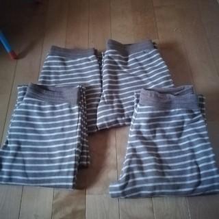 MUJI (無印良品) - 無印良品 無印 乾きやすい裏毛 パンツ M ブラウン ホームウェア