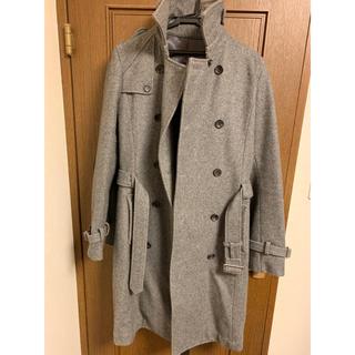 ザトゥエルヴ(THE TWELVE)の美品43200円 日本製 トレンチコート ウールコート メンズ 46 Mサイズ (トレンチコート)