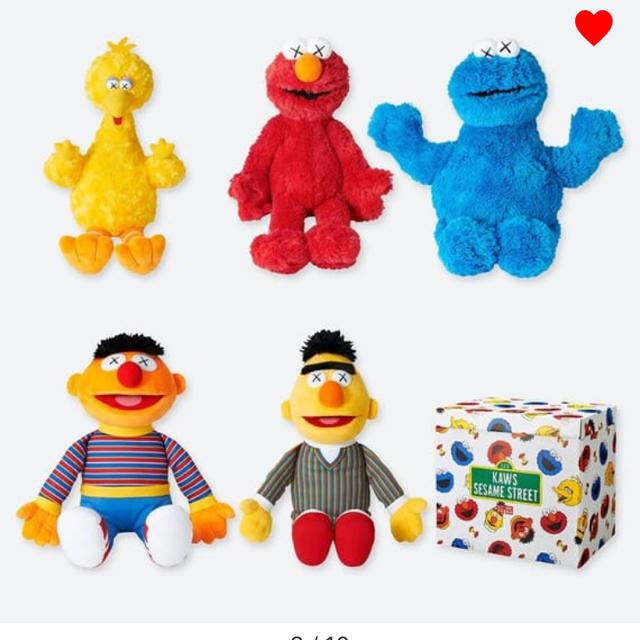 UNIQLO(ユニクロ)のKAWS ユニクロ コンプリートBOX エンタメ/ホビーのおもちゃ/ぬいぐるみ(ぬいぐるみ)の商品写真