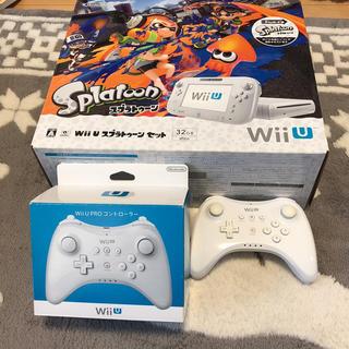 ウィーユー(Wii U)のWii U スプラトゥーンセット ⭐️説明欄必読(家庭用ゲーム機本体)