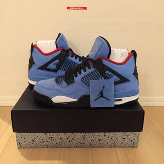 NIKE - 【再入荷】AIR JORDAN 4 TRAVIS SCOTT 28cm