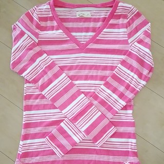 ホリスター(Hollister)のHOLLISTERレディースシャツ👚(Tシャツ(長袖/七分))
