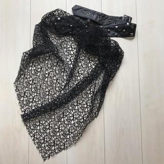 セックスポット(SEXPOT)のSEXPOT 蜘蛛の巣スカーフ(バンダナ/スカーフ)