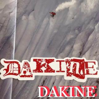 Dakine - DAKINEダカインUS限定型抜きデザインバナーステッカー1点物