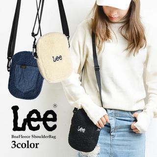 リー(Lee)のLeeのボア素材ショルダーバッグ(バッグ)