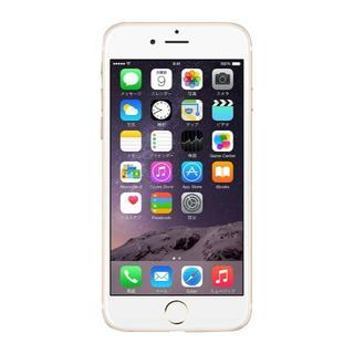 iPhone6 16GB A1586 (MG492J/A) ゴールド(スマートフォン本体)
