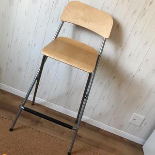 イケア(IKEA)のイケア ハイチェア 美品(折り畳みイス)