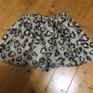 ニーナミュウ(Nina mew)のNina mew サテンキュロットスカート(ミニスカート)