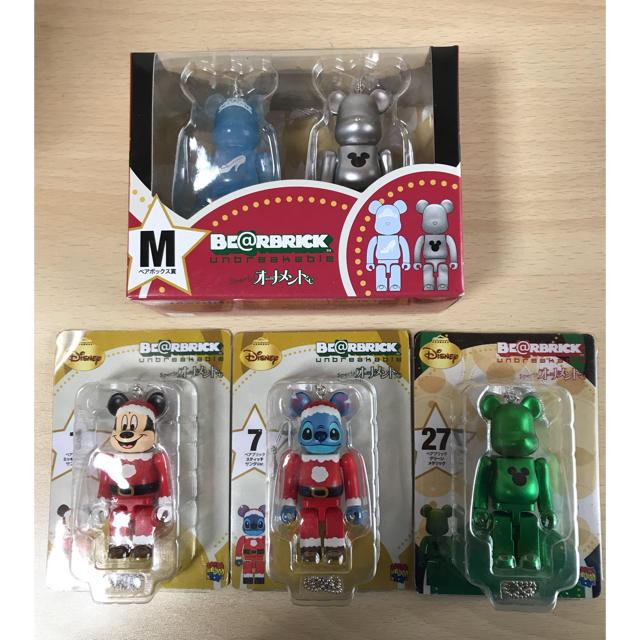 MEDICOM TOY(メディコムトイ)のミッキー スティッチ シンデレラ ベアブリック  ディズニー エンタメ/ホビーのおもちゃ/ぬいぐるみ(キャラクターグッズ)の商品写真