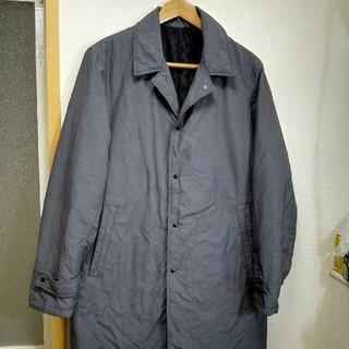 ジーユー(GU)のGU  ナイロン中綿 コート(ステンカラーコート)