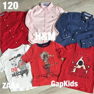 ザラ(ZARA)の120 トップス 6枚セット(Tシャツ/カットソー)