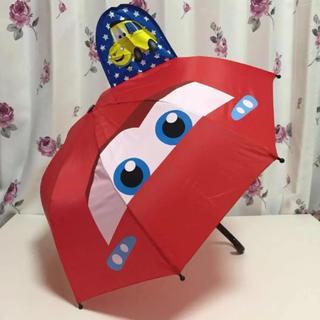 ディズニー(Disney)の即購入OK!ラスト1点!!新品タグ付き★ディズニーピクサー カーズ  耳付き傘(傘)